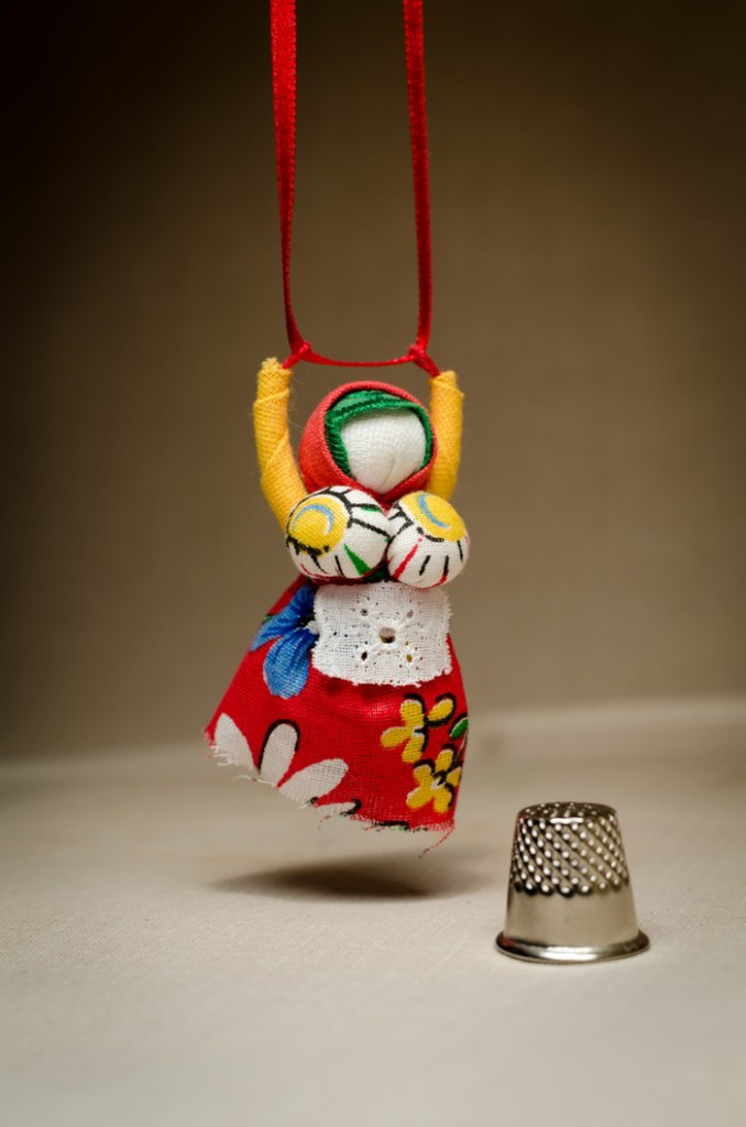 Кукла-украшение